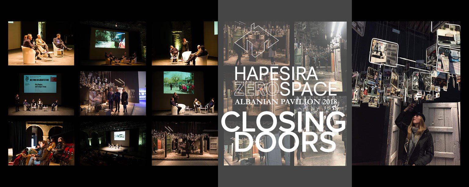 Hapësira Zero Space Closing Doors
